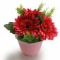 Artificial flower bowl