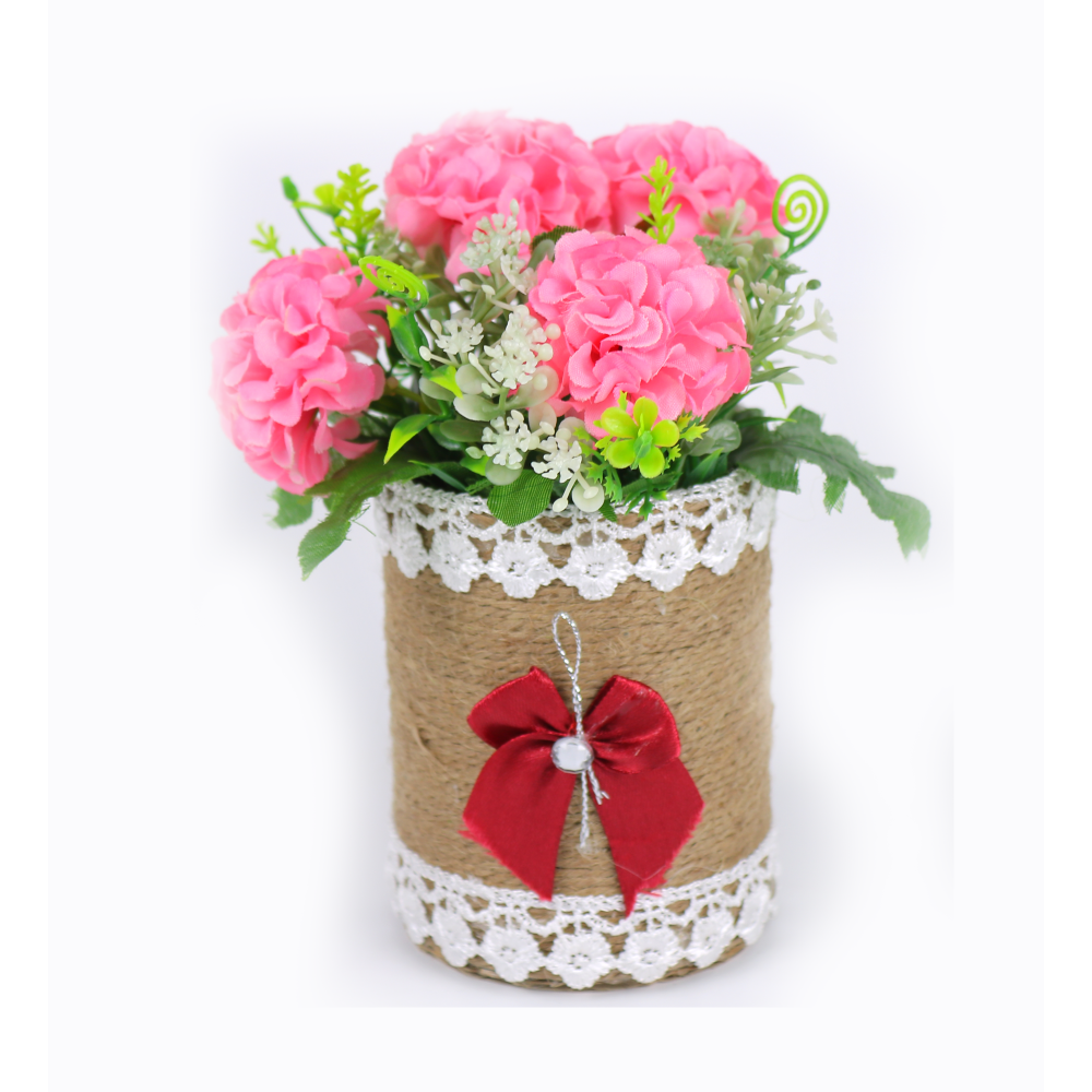 Artificial flower, A coiled Cylinder
