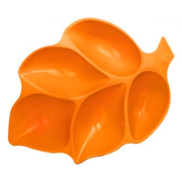 LEAF PLASTIC PLATE